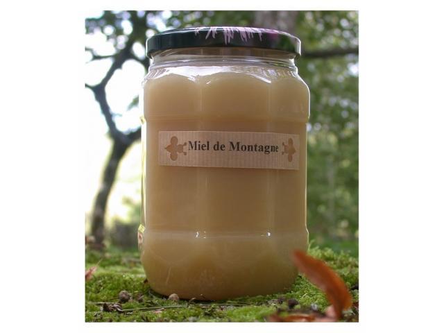 Miel de montagne production marocaine
